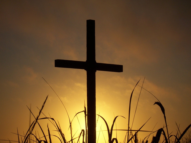 Pointing to the Cross (Lent 5)