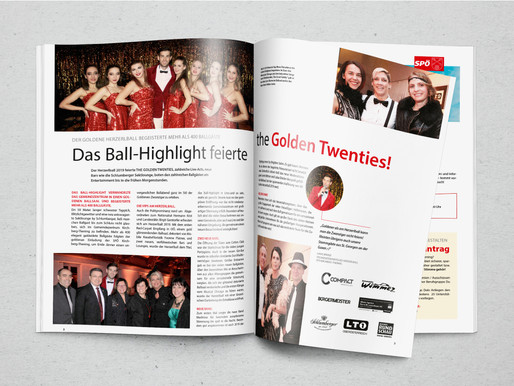 Der neue thenberger mit Herzerlball Special ist online!
