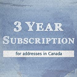 Canada 3-yr PcDM Sub