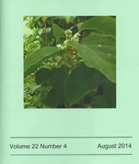 Vol. 22, #4: August 2014