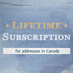 Canada Lifetime PcDM Subscription