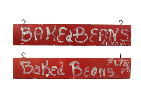 Baked Beans Sign