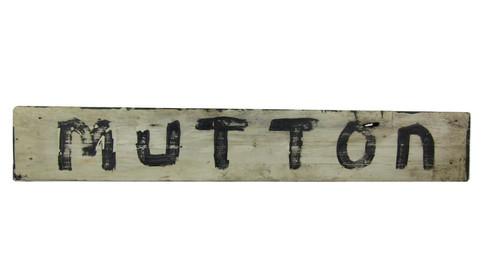 Mutton Sign