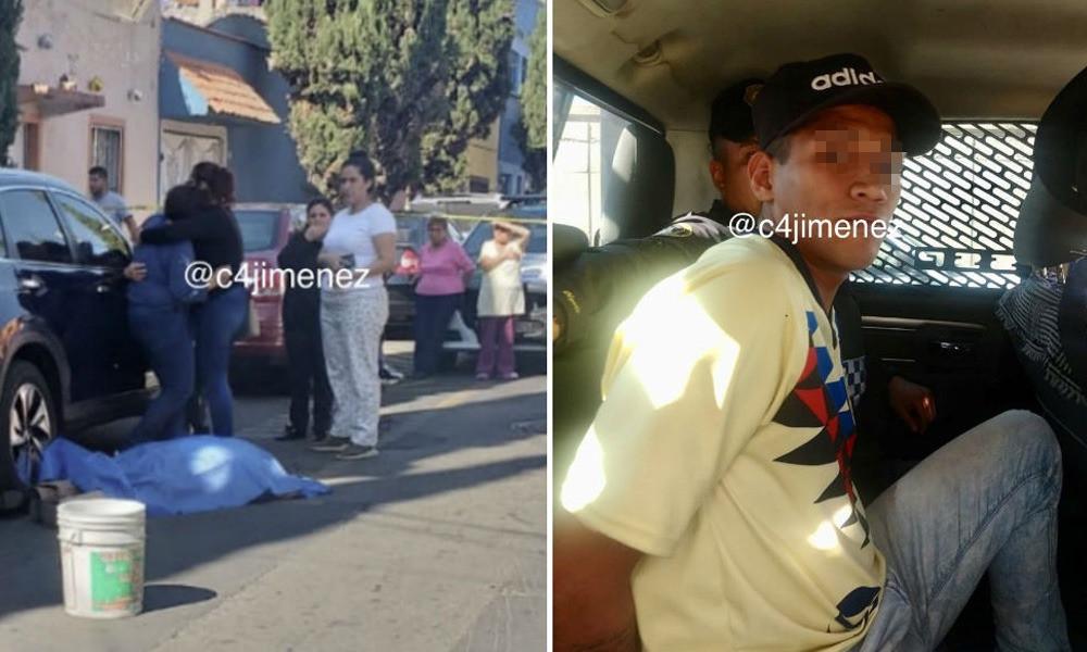 Asaltante mata a abuelito para robarle su camioneta en Azcapotzalco