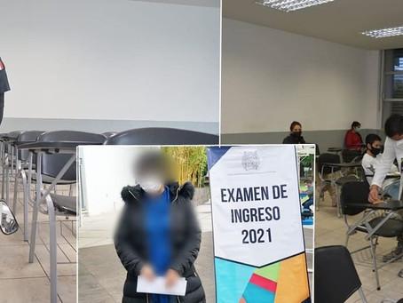 #UMSNH: Detienen a aspirante de Medicina que intentó grabar examen con una cámara en sus lentes