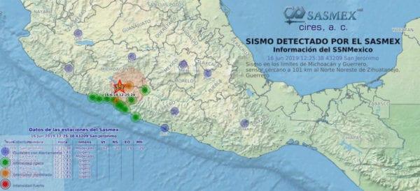 Sin reportes de afectaciones tras sismo ocurrido en #Michoacán