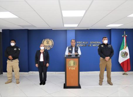 Fiscalía de Michoacán revela detalles de la muerte de Jessica González