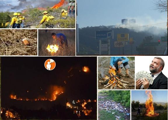 Incendios forestales en Morelia