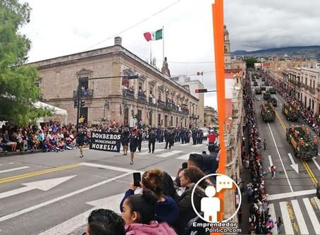 Ya lo confirmaron Morón y Silvano, este año no habrá festejos patrios en Morelia