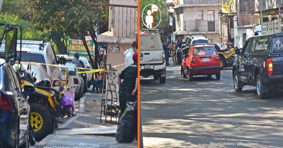 Otro atentado en taller mecánico en Morelia; ocurrió en la Ventura Puente (+Video+Fotos)