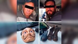#PasaEnMéxico: Detienen a asaltantes con máscaras de La 'Casa de Papel'