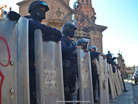 Refuerza SSP acciones operativas en #Michoacán, ante posibles cortes de energía eléctrica