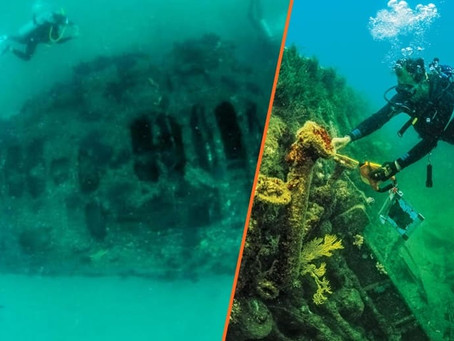 Conoce el submarino americano de la 1ra Guerra Mundial que México descubrió en el fondo del mar
