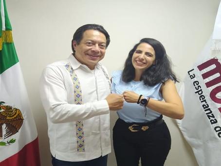 Pondré toda mi fuerza y corazón en esta misión de seguir transformando Michoacán: Giulianna Bugarini