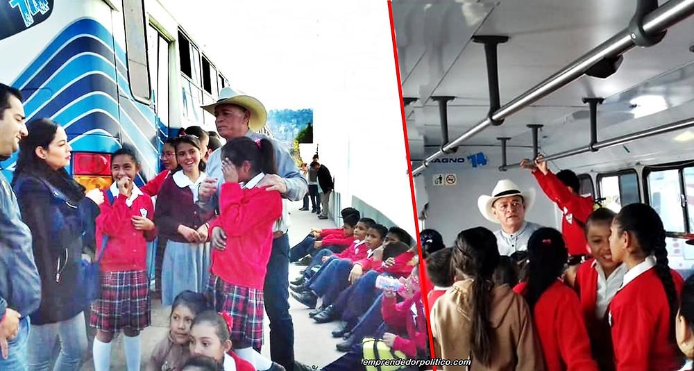 Diputado Salvador Arvizu gestiona actividades de esparcimiento y cultura para escuelas de Morelia
