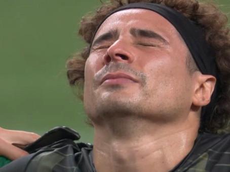 """""""Una medalla que es para toda la vida"""". Memo Ochoa rompe en llanto en Tokio (VIDEO)"""