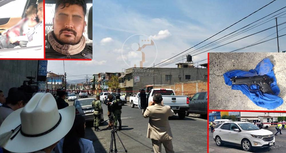 Diputado local  asesinado este día en Morelia recibió 4 disparos: FGE