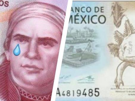 Banxico despide a Morelos y alista para presentar hoy el nuevo billete de 50 pesos