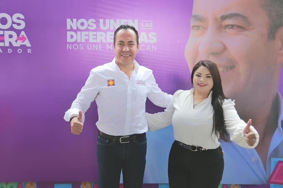 Coordinadora de alcaldes de Morena se une a la campaña de Carlos Herrera