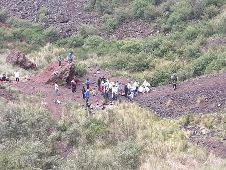México: Incursionaban en el cráter del volcán Xitle pero cayeron y una mujer murió