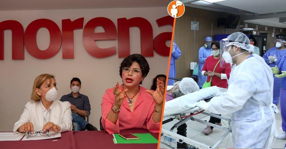 Capacitación a personal médico de Michoacán e insumos para enfrentar el COVID: Anita Sánchez