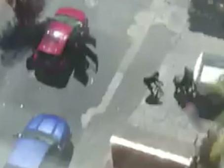 Balacera en Zapopan desata pánico a plena luz del día (+Videos)