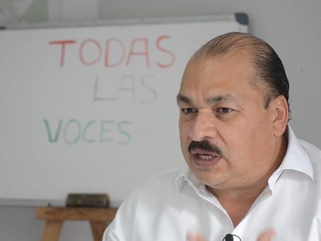 """""""En mis primeros 100 días de gobierno habrá resultados contundentes en seguridad"""": Abraham Sánchez"""