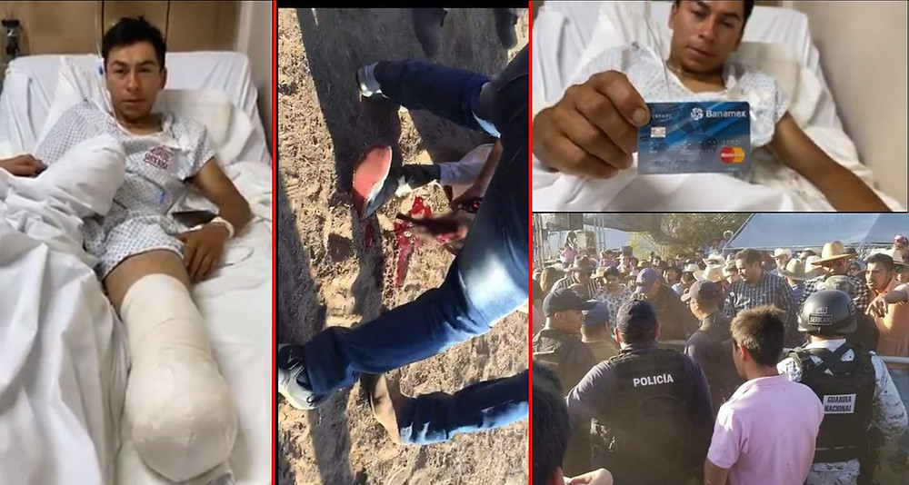 Solicitan apoyo para joven que perdió su pie en carrera de caballos tradicional de Tuxpan, Michoacán
