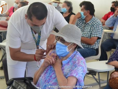 ¡Por fin! Hoy arranca vacunación de segunda dosis para cuarentones en Morelia