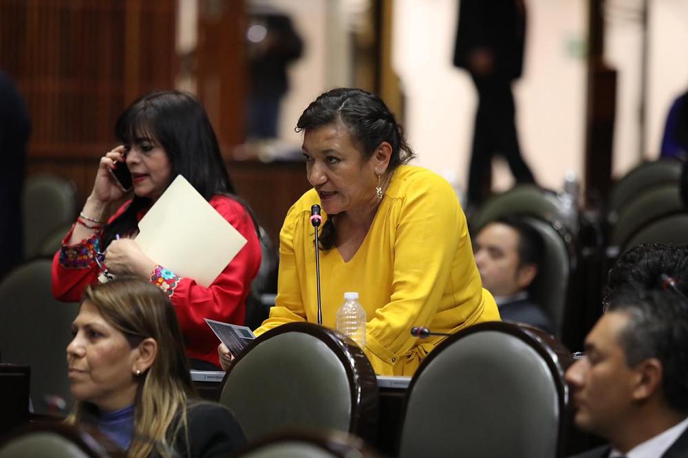 DIPUTADA MARÍA CHÁVEZ EXHORTA A 3 GOBIERNOS ESTATALES PARA REINSTALAR DOCENTES CESADOS DE CONALEP