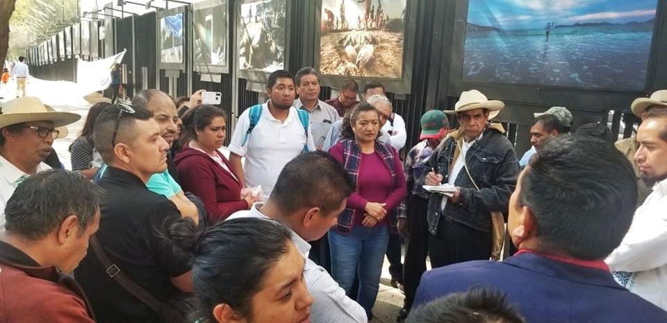 DIPUTADA MARIA CHÁVEZ ATIENDE PETICIONES DE AUTORIDADES COMUNALES DE LA MESETA PURÉPECHA EN CONGRESO