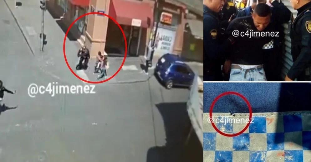 Revelan VIDEO de niños que quedan entre balacera, tras asalto en CDMX