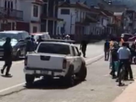 Acribillan a mujer en una tienda de abarrotes de Pátzcuaro