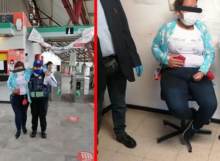 Apuñalan a mujer que se opuso a robo en vagón del Metro; avanzó 6 estaciones en busca de ayuda