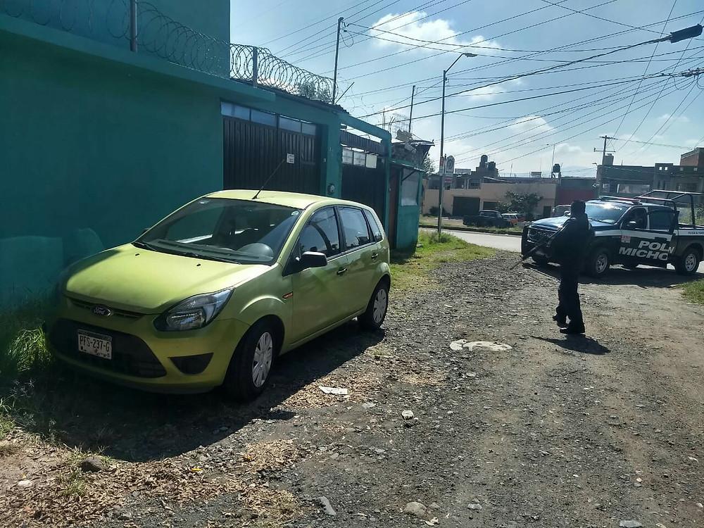 #DeImpacto: ladrones roban carro con menor incluido en Morelia, lo rescatan minutos después