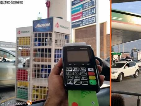 En estas estaciones de Michoacán, encuentras la gasolina más barata y cara en el país