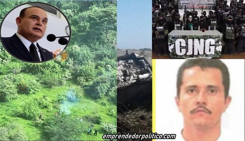 El Mencho, probable implicado del derribo de helicóptero en Michoacán :Medios nacionales