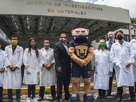 Orgullo mexicano: UNAM crea cubrebocas que puede inactivar el Covid-19