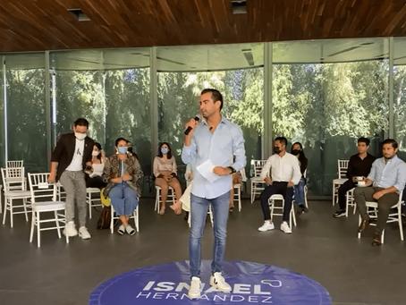 Ismael Hernández declina a su candidatura independiente por el 11 local ante monopolio electoral