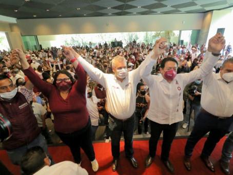 Se acaban las especulaciones, hoy se registra Alfredo Ramírez ante el IEM para buscar la gubernatura