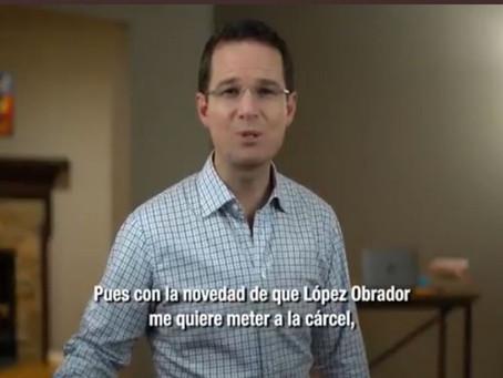 AMLO me quiere fregar a la mala y me quiere encarcelar: Ricardo Anaya (+Video)