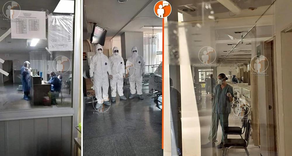 Así es el traslado de pacientes con COVID-19 en hospitales del IMSS en Michoacán (+Video)