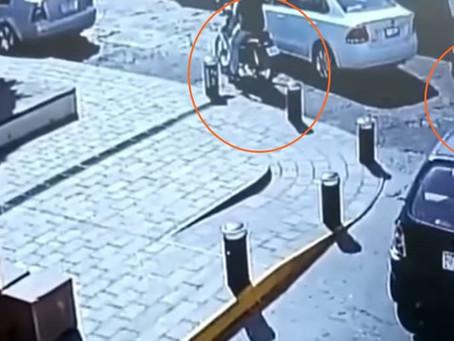 Video de trágico accidente vial en centro de Morelia: conductor borracho atropella motociclista
