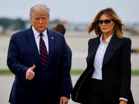 #ÚltimaHora: Donald Trump y Melania confirma tener COVID-19; iniciarán cuarentena