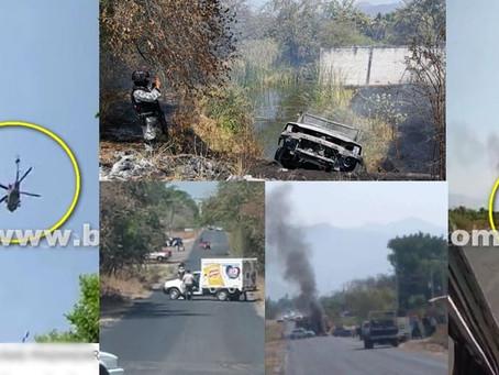 Se registran narco-bloqueos en esta zona de Michoacán (+Fotos)