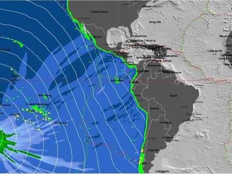 Tsunami por sismo en Nueva Zelanda, llegará a costas michoacanas durante la mañana de este viernes