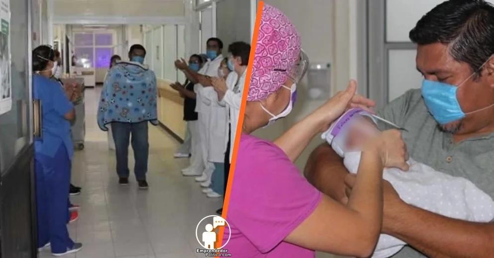 """Primer bebé de madre con Covid-19 nace libre del virus en Coahuila; lo conocen como """"Bebe Milagro"""""""