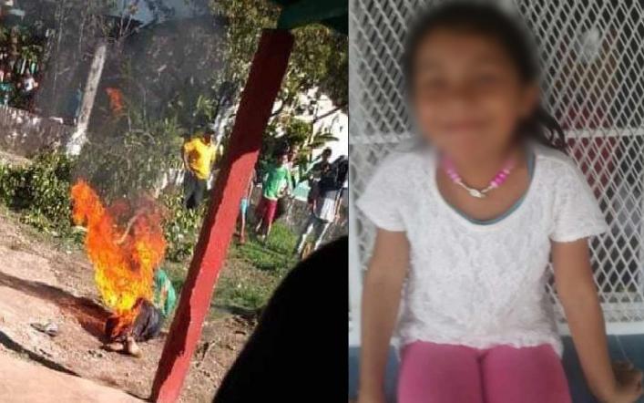 Videos: Queman vivo a hombre que violó y mató a niña en Chiapas - Emprendedorpolitico.com