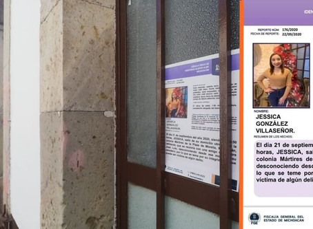 #ÚltimaHora: Fiscalía confirma la localización sin vida de Jessica González