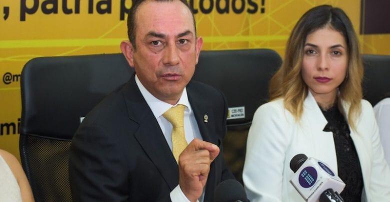 Antonio Soto y el PRD Michoacán